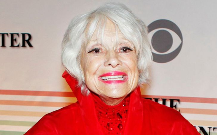 Carol Channing's Biography With Facts Like Age, Son, Movies, Net Worth, Family, Death
