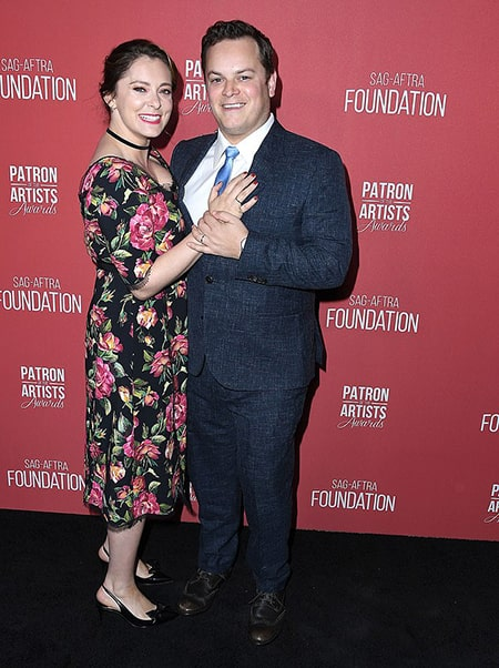 Rachel Bloom and her husband Dan Gregor