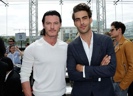 Jon Kortajarena and Luke Evans