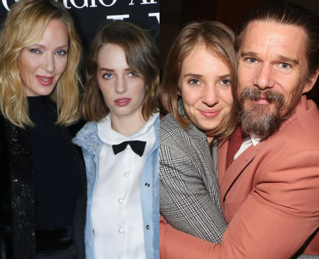 Maya Hawke is the daughter of Hollywood actor Ethan Hawke and actress Uma ThurmanImage Source: Pop Buzz
