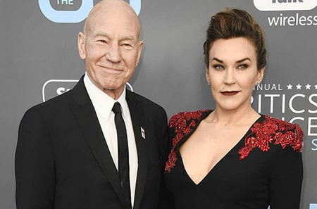 Actor Patrick Stewart and his third wife, Sunny Ozell