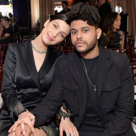 The Weeknd and his girlfriend Bella Hadid