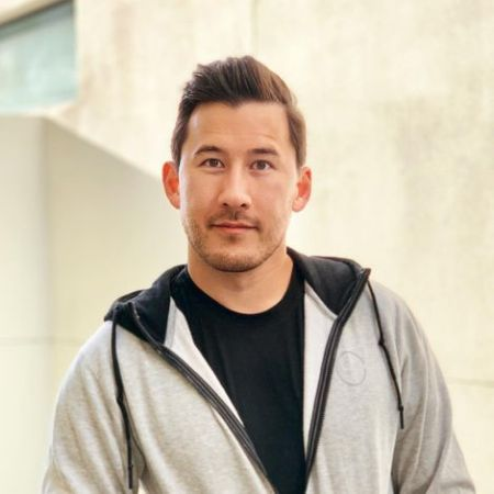 Markiplier with a cool haircut