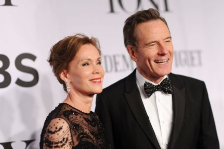 Robin Dearden with her husband Bryan Lee Cranston