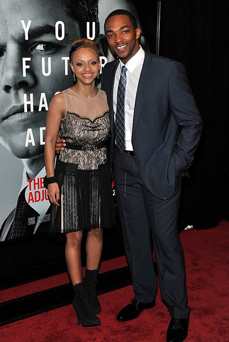 Anthony Mackie and his ex-wife Sheletta Chapital