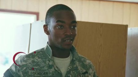 Anthony Mackie in the 2009 Best Picture Oscar Winner The Hurt Locker