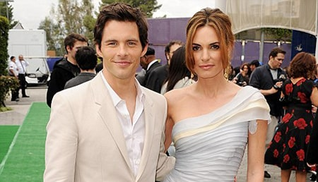 Actor James Marsden and his ex-wife Lisa Linde
