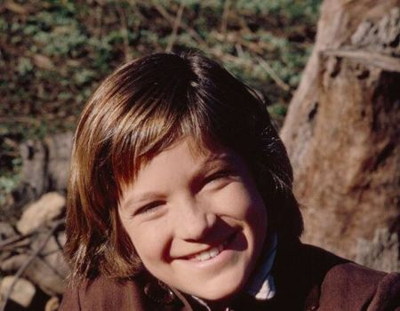 A young Jason Bateman during his Little House on the Prairie-days