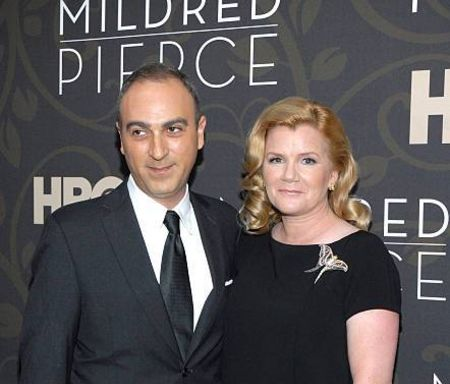 Mare Winningham and  Jason Trucco