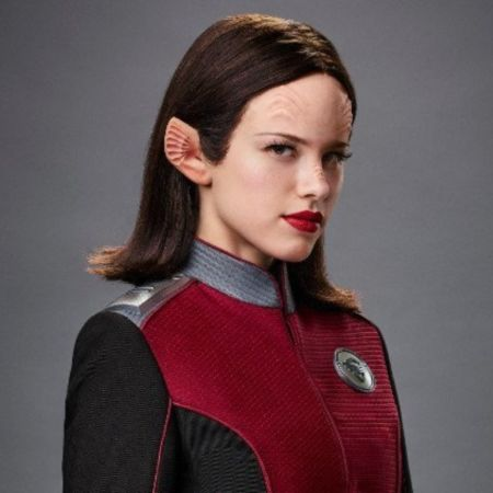 Sage was formerly the female lead in The Orville