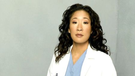 Sandra Oh as Dr. Cristina Yang in Grey's Anatomy