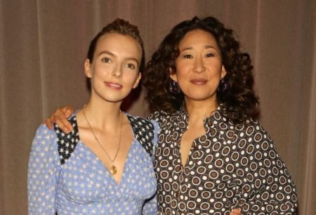 Jodie Comer and Sandra Oh: On-screen adversaries, off-screen friends