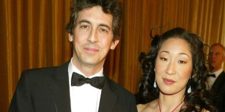 Sandra Oh with her ex-husband, Alexander Payne