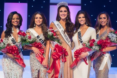 Hannah Ann Sluss was the first-runner-up in the Miss Tennessee Teen USA pageant