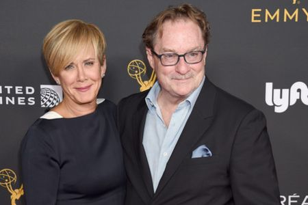 Stephen Root with wife, Romy Rosemont