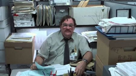 Stephen Root in Office Space