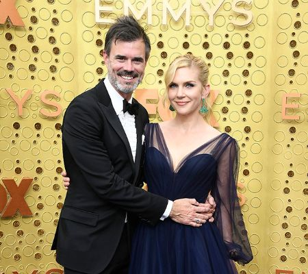 Rhea Seehorn and  Graham Larson
