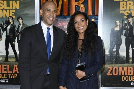 Rosario Dawson and boyfriend, Senator Cory Booker