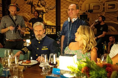 Behind the scenes of Avenue 5 with Hugh Laurie and Jessica St. Clair