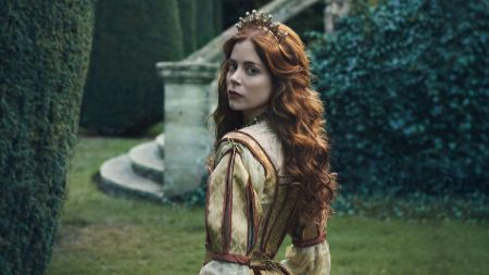 Charlotte Hope as Catherine of Aragon in The Spanish Princess