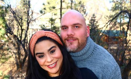 Jessica Marie Garcia and husband, Adam Celorier